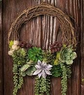 Succulent Wreath Floral Design Class