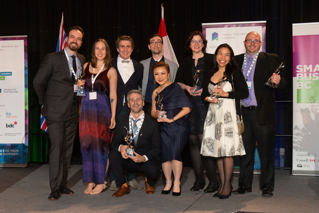 The SBBC Award winners from 2019
