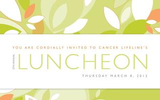 Cancer Lifeline's 12th Annual Luncheon