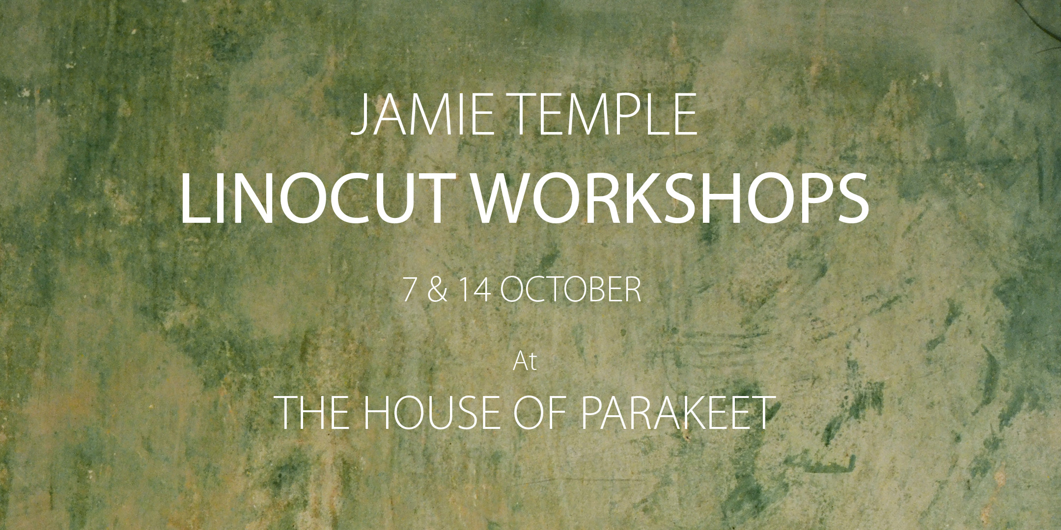 JAMIE TEMPLE, LINOCUT WORKSHOPS