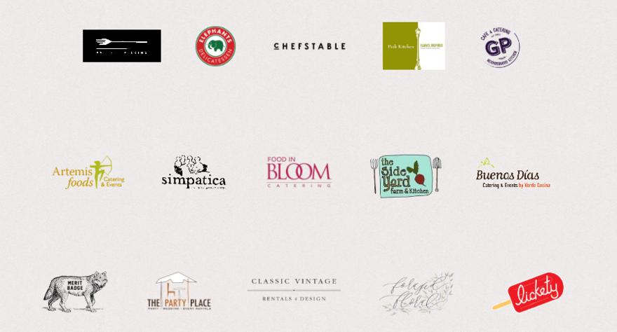 June Bloom partner logos