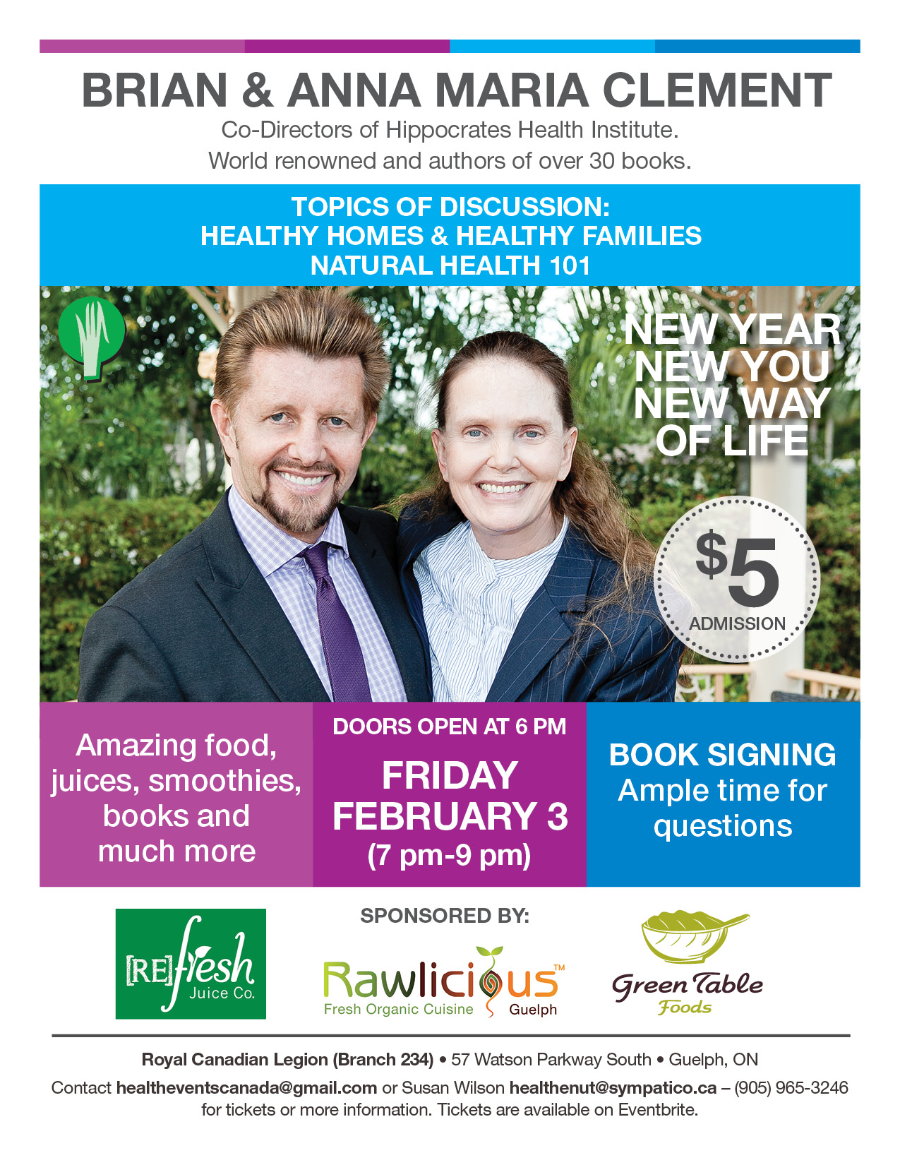 Natural Health 101 with Brian & Anna Maria Clement