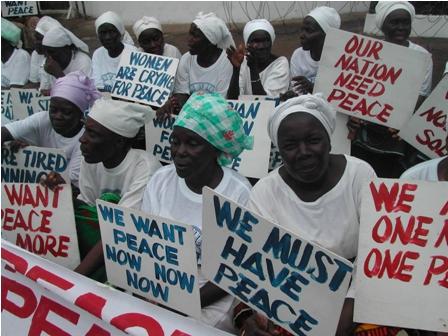 Liberian women peace Picture: Pewee Flomoku