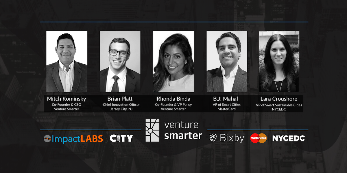 Venture Smarter Speakers Headshots and Sponsors