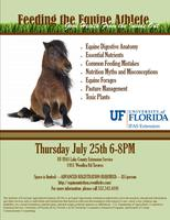 UF/IFAS Lake County ExtensionFeeding The Equine Athlete: Good...