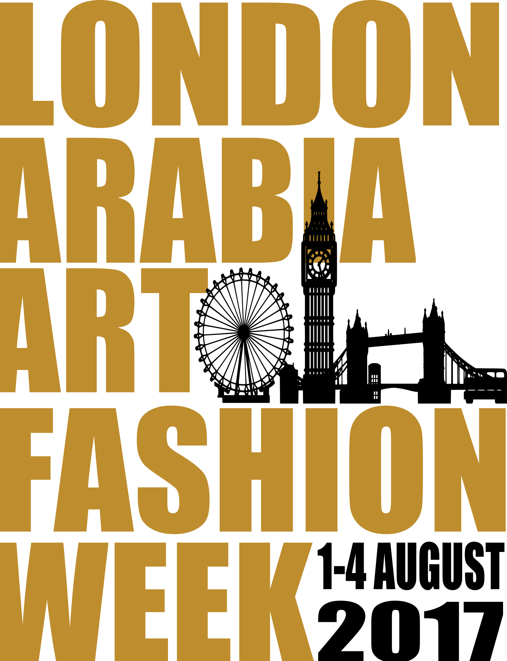 http://www.londonarabia.co.uk/  This August 1-4 we are organising London Arabia Fashion Week The 2nd annual, 3-4 days culture, Fashion, Art, Design and Film experience, in partnership with, The Arab British Culture & Business Association, London & Partners, Regents University London and The Jumeirah Carlton Tower Hotel, The inspiration for creating LAFW is simple; bring the creative collective that is the Arab artists and designers have then connect their talents with London to produce an event that is themed, multi-faceted, which will in turn help to boast London's tourism, shopping and creative economy. Also, to highlights and enhances the visibility of London links with the Arab World to established and emerging talent in the Fashion, Art, Design and Film industries. London Arabia Fashion Week connects London with  the Arabic arts and culture sectors by bridging local firms to the community of artists, musicians, designers, and film industry.