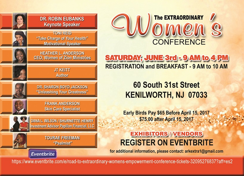 2017 Extraordinary Women's Conference