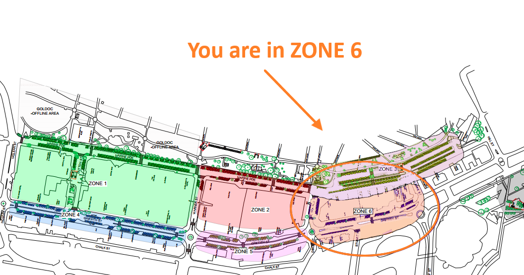 Zone 6 - you are here