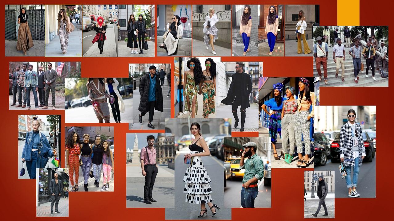 street style collage pics
