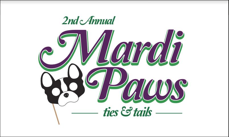 Mardi Paws Banner