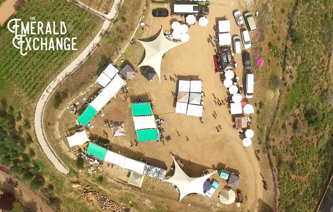 Overhead view of Emerald Exchange 3