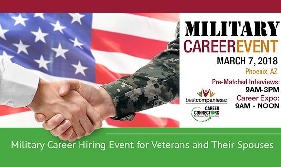 BCAZ Military Career Event