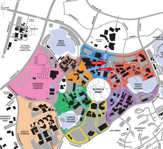 UCI Area Map