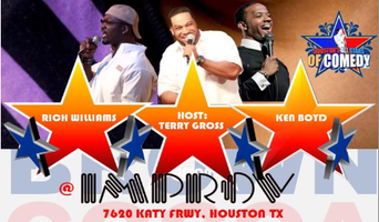 RICH WILLIAMS OPENS 4 COCOA BROWN@HOUSTON IMPROV WEDNESDAY...