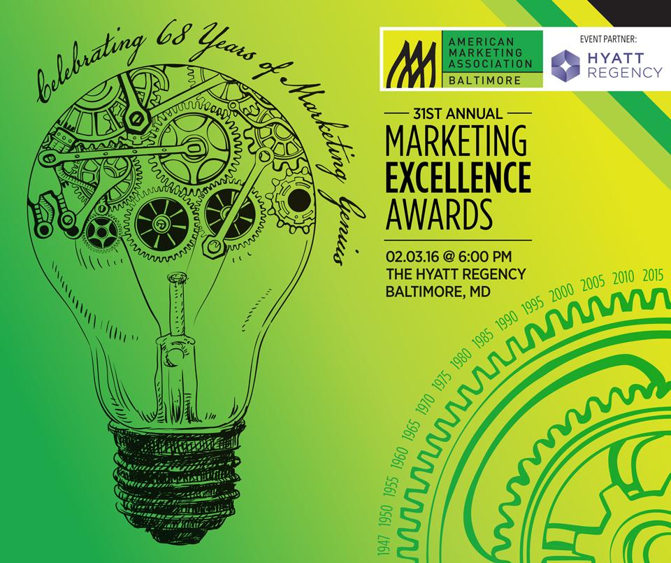 AMA Marketing Excellence Awards - February 2015