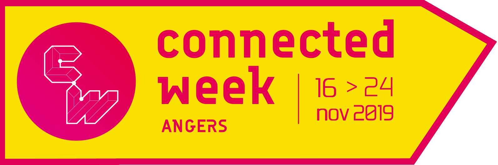 logo connected week angers