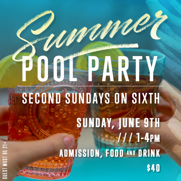 Second Sundays on Sixth at sixth+mill pizzeria and bar