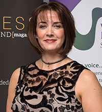 Angie Foreman Pic: Malcolm Cochrane Photography, Business Women Scotland/WES Awards 2018