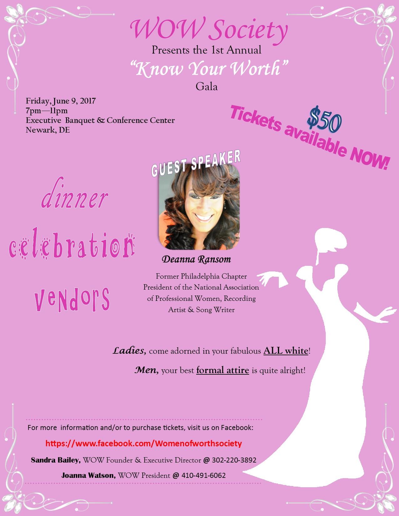 Women of Worth Society Gala
