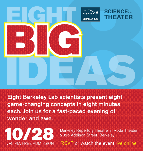 Eight Big Ideas, Oct. 28 Flyer