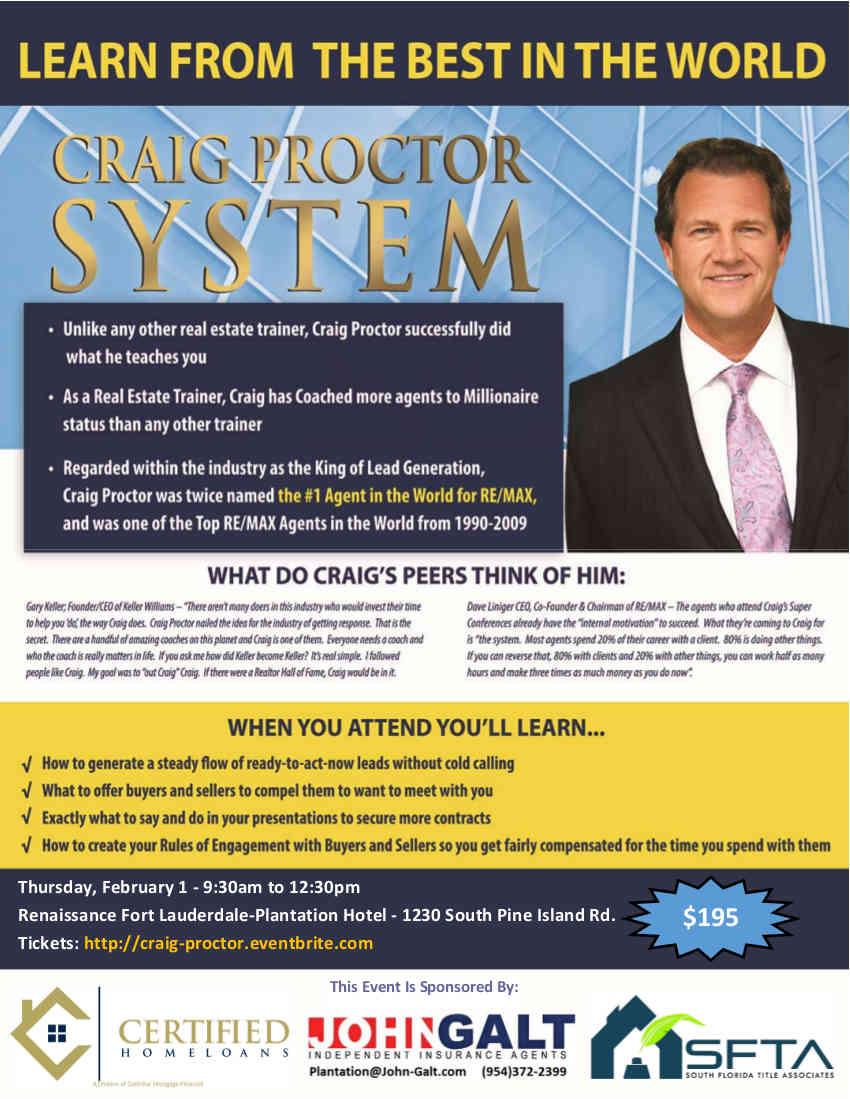 Craig Proctor Ft. Lauderdale