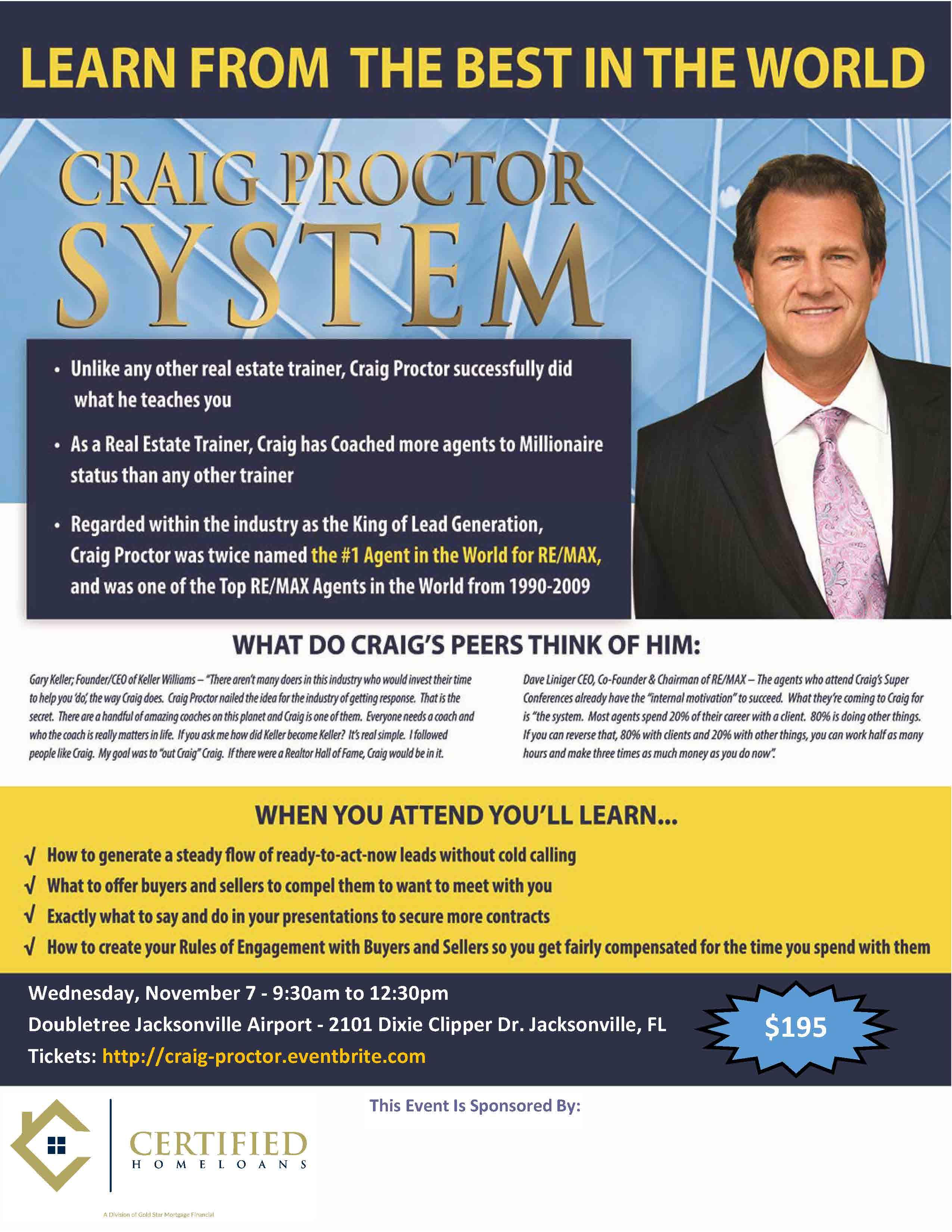 Craig Proctor Jacksonville