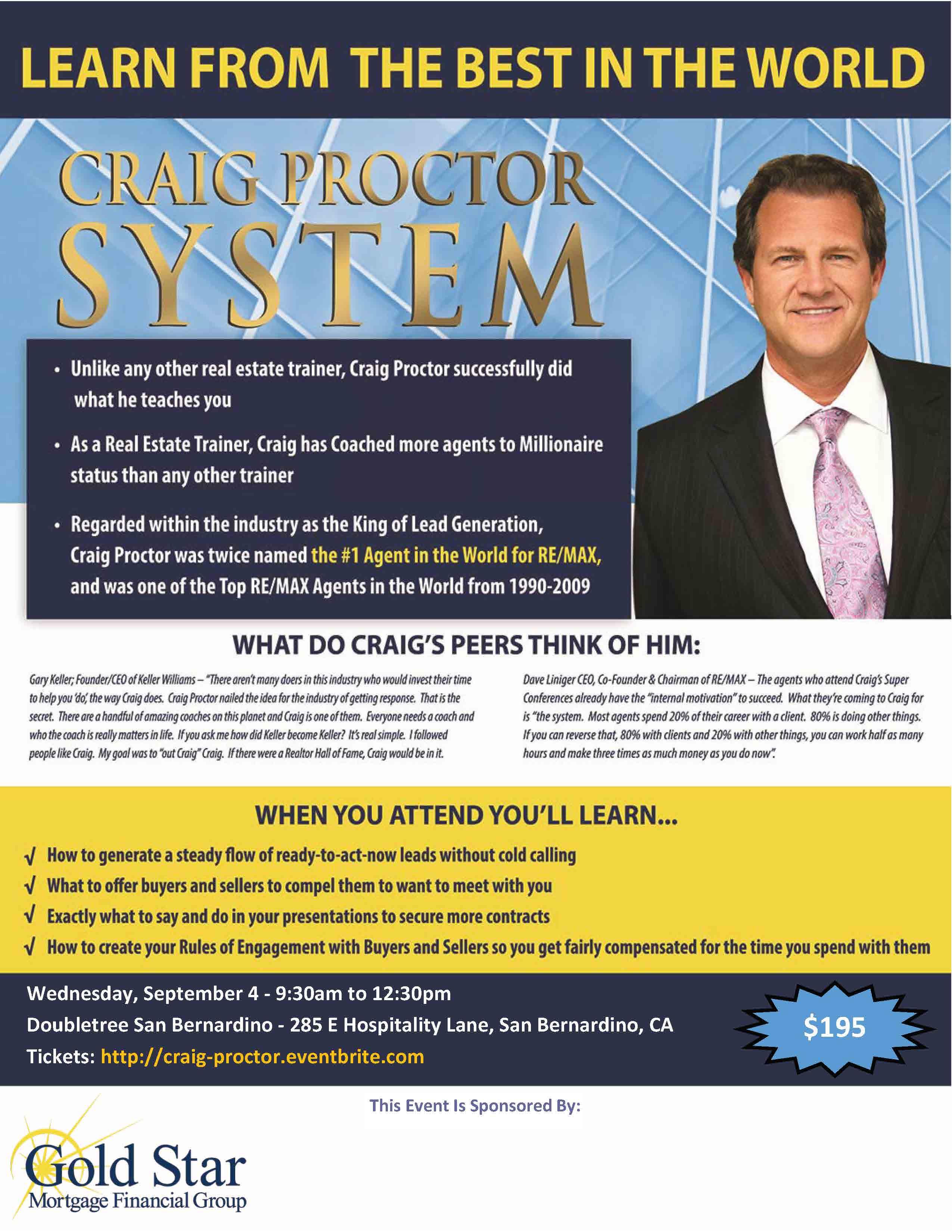 Craig Proctor San Bernardino