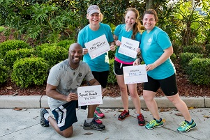 Pic of 2017 Orlando EVAWI Fun Run Participants
