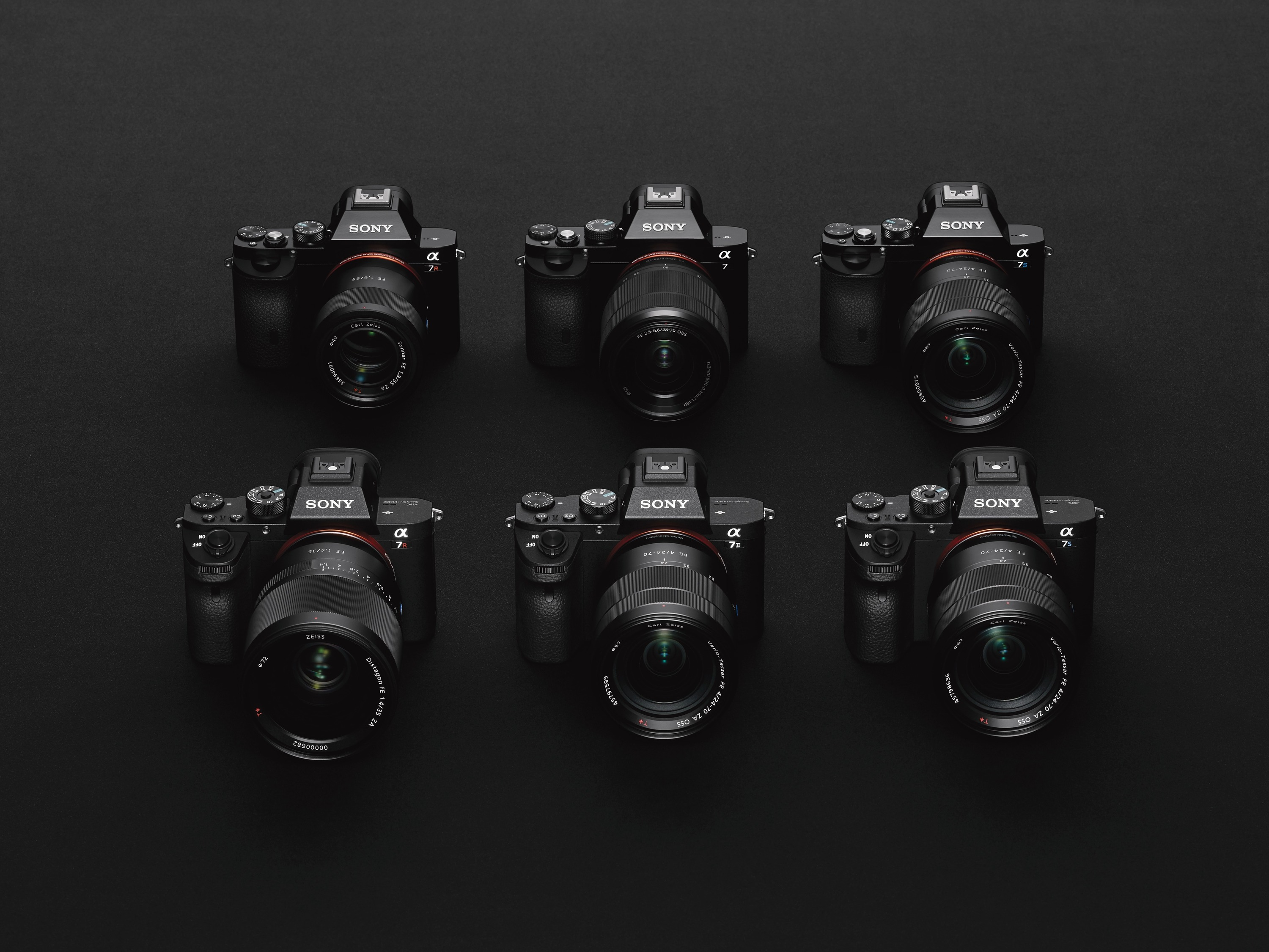 Sony A7 Familie