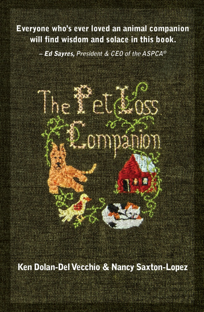 Book cover of The Pet Loss Companion