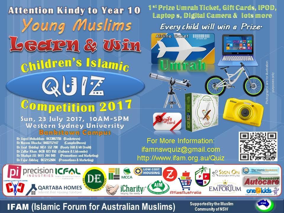 IFAM  Children Islamic Quiz 2017