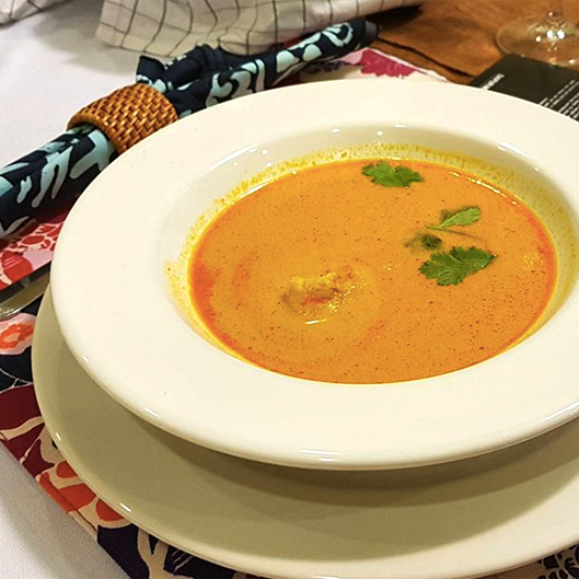 Soup - Prawn Bisque Paduka Jembal