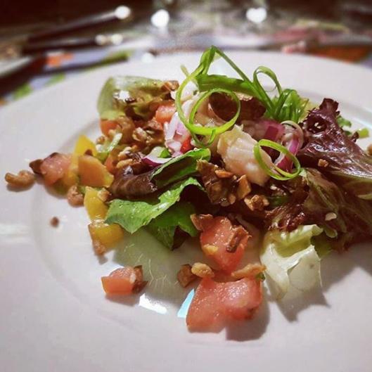 Appetizer - Mak Yong Salad with Kerabu Snapper