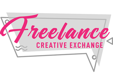 Freelance Creative Exchange podcast logo-450x300