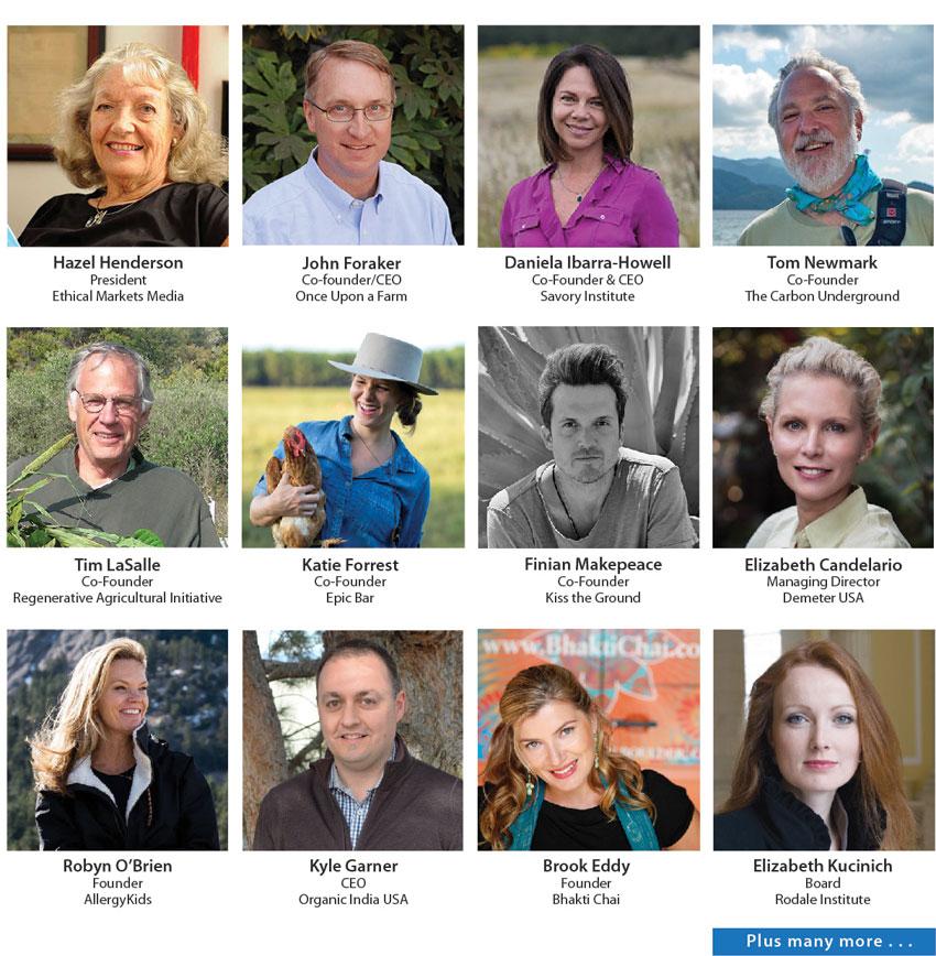 Regenerative Earth Summit Speakers