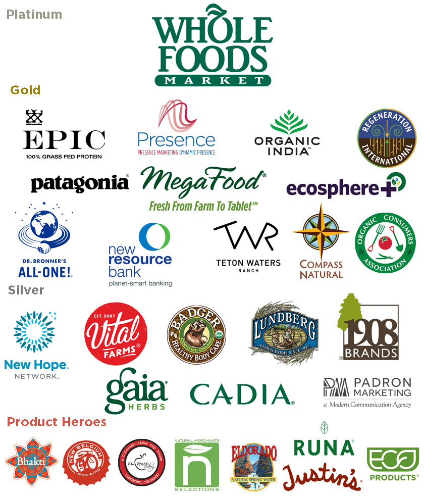 Regenerative Earth Sponsors