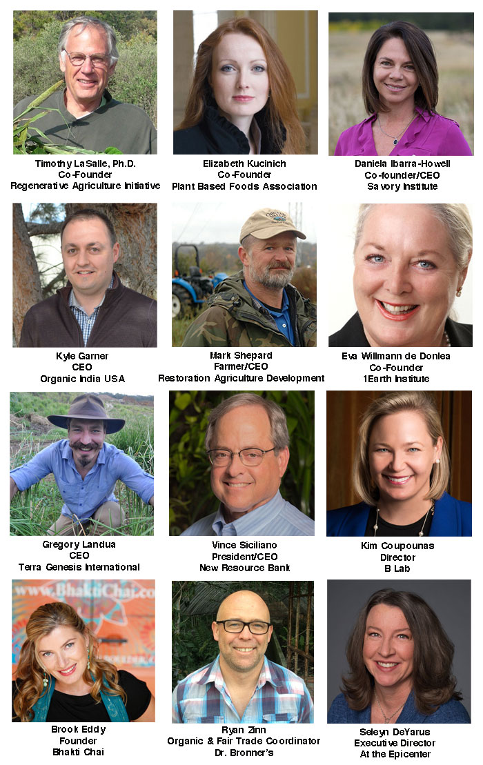 speakers Regenerative Earth Summit