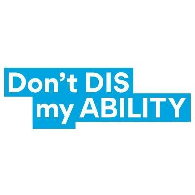 Don'tDisMyAbility Logo