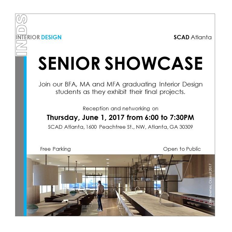 SCAD Atlanta Interior Design Senior Grad Showcase Tickets
