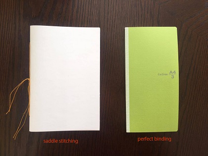 Handstitch binding