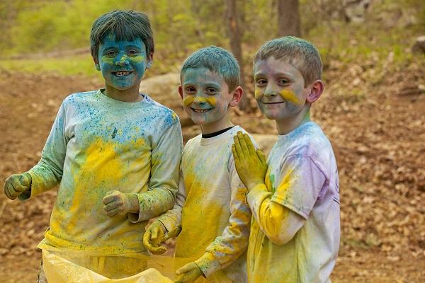 color run boys