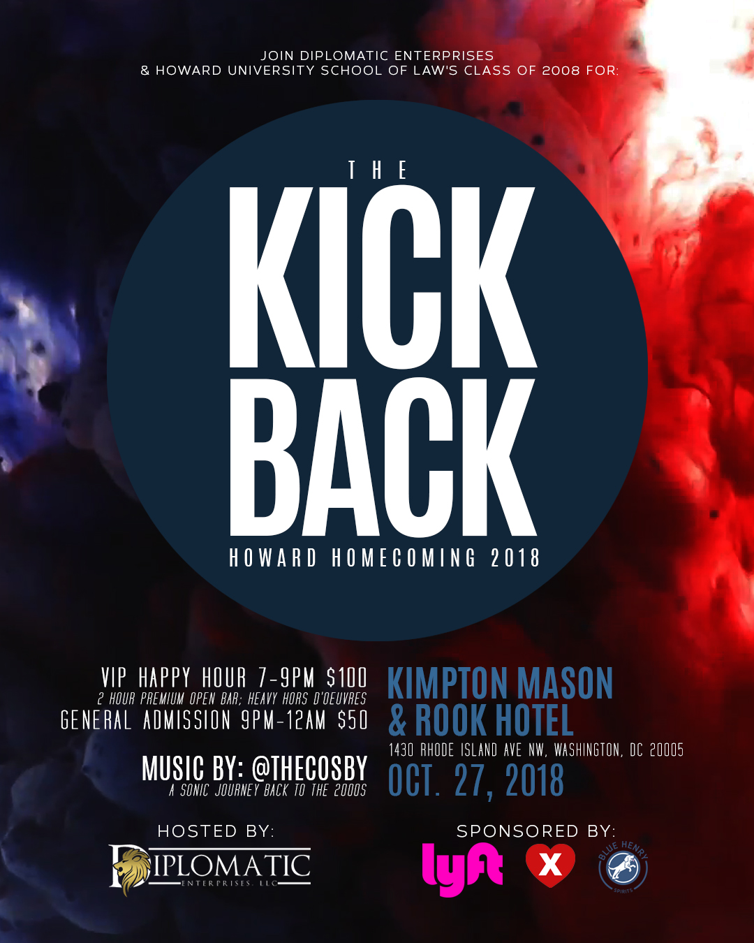 HU Homecoming 2018: The Kickback