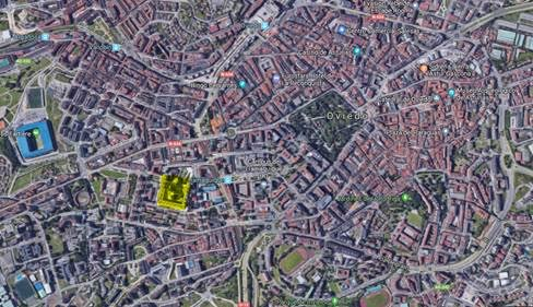 Plano Oviedo