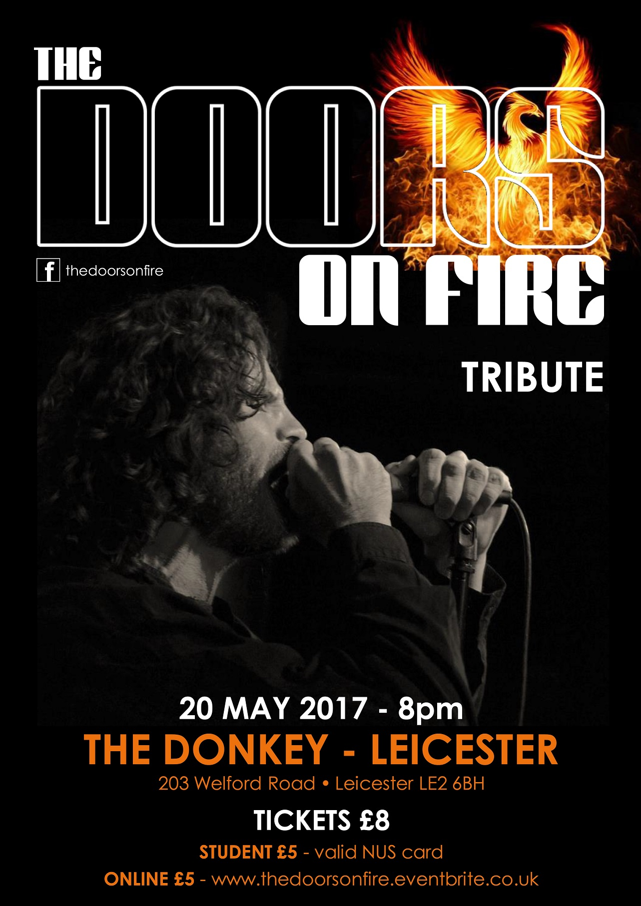 The Doors on Fire - Leicester