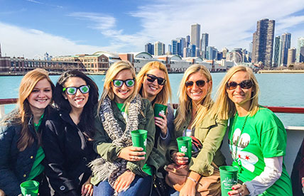 st patricks day party cruise