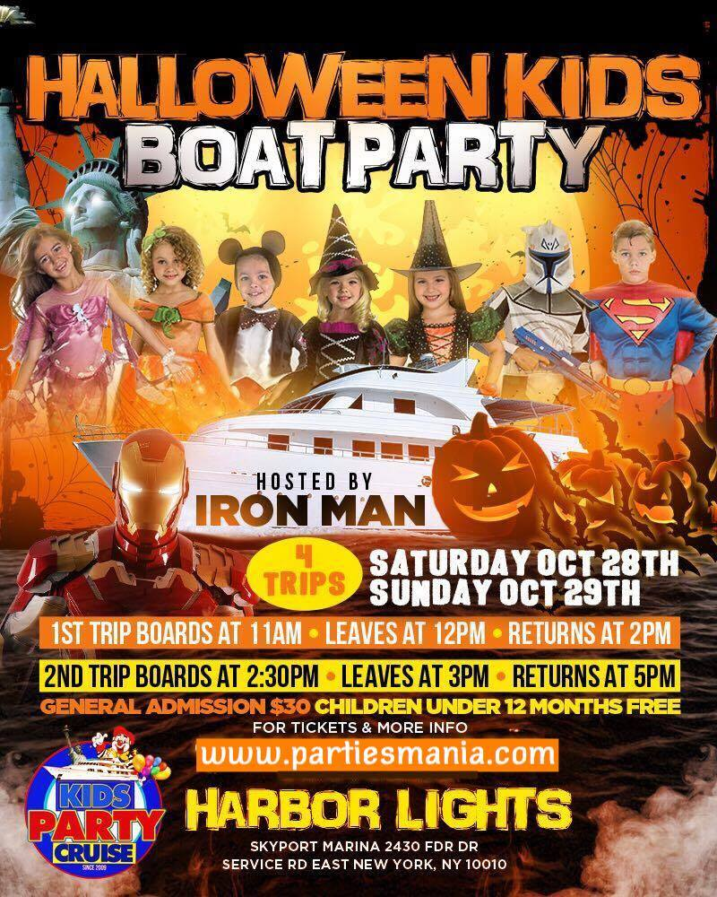 halloween kids party cruise - Halloween For Kids In Nyc