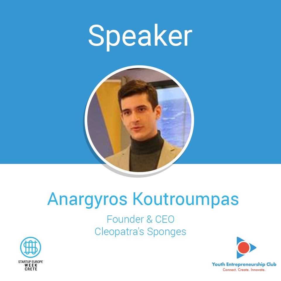 Anargyros-Koutroumpas,-Founder-and-CEO-@-Cleopatra's-Sponges-_-Speaker-@-Startup-Europe-Week-Crete-2018