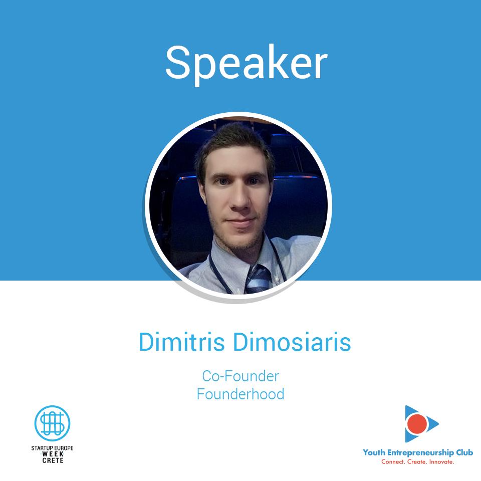 Dimitris Dimosiaris, Startup Europe Week Crete