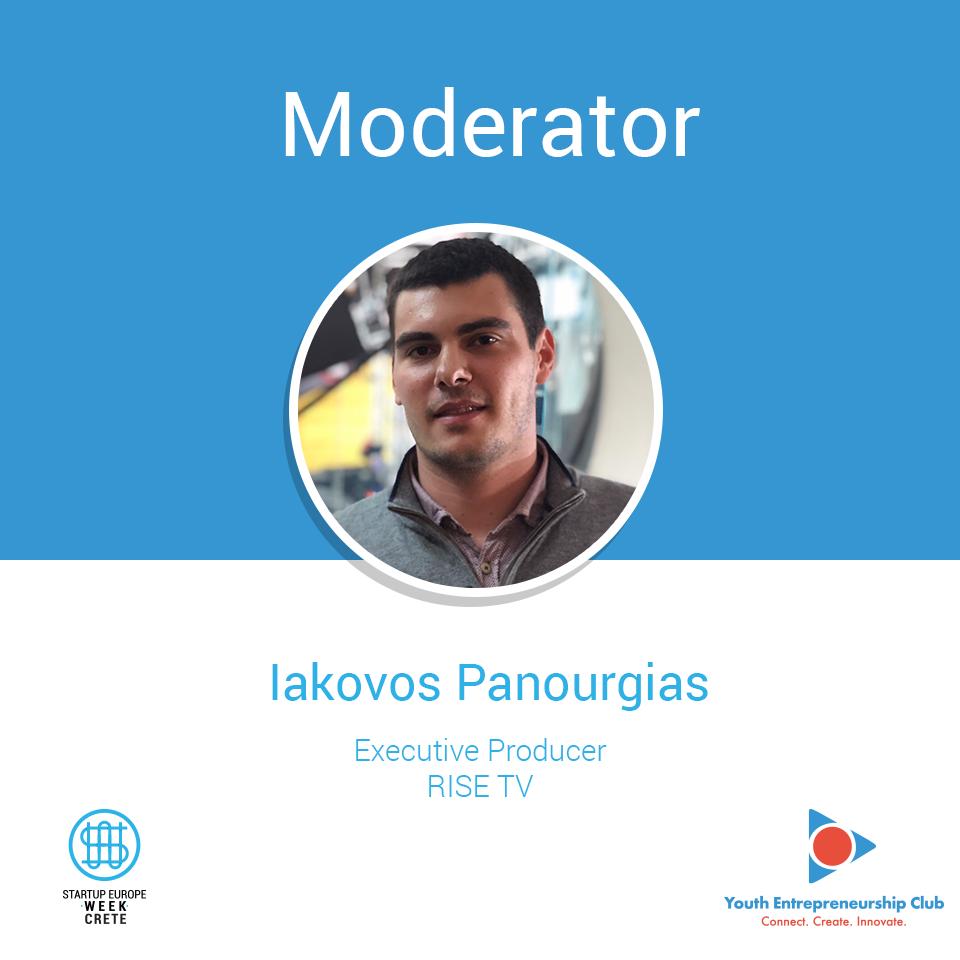 Iakovos Panourgias, Startup Europe Week Crete
