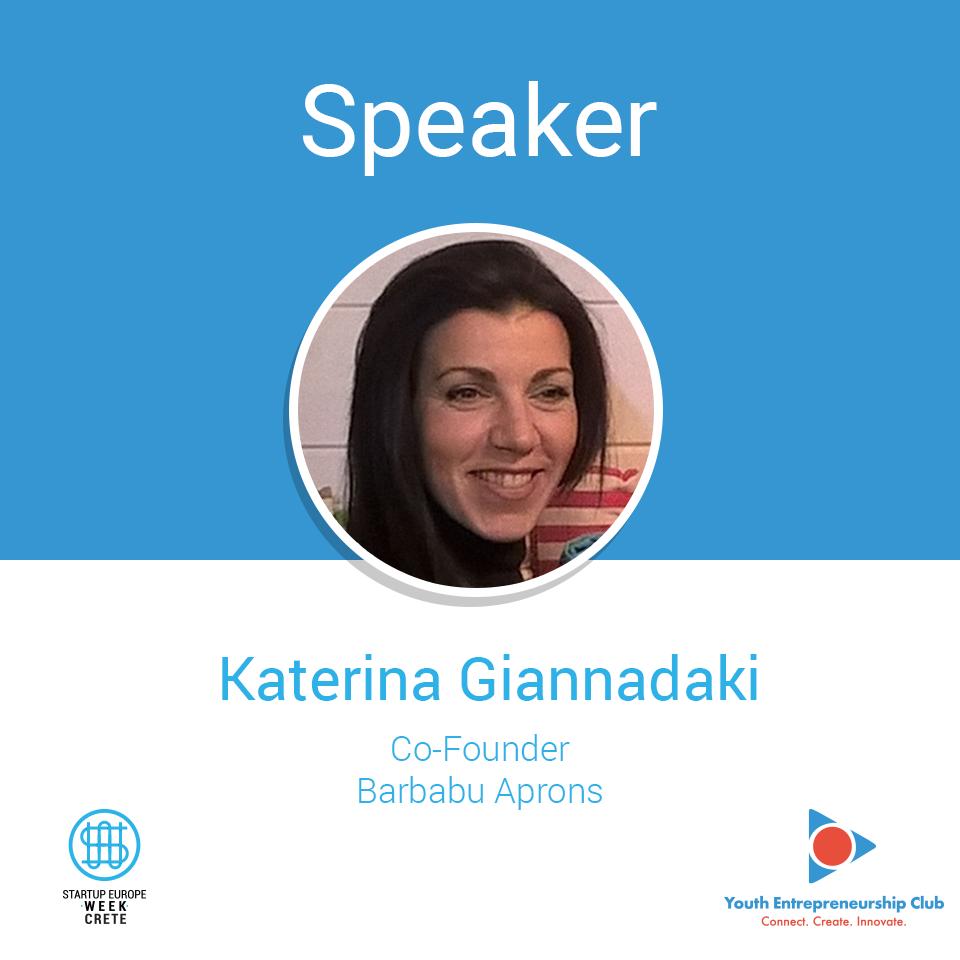 Katerina-Giannadaki-_-Co-Founder-@-Barbabu-Aprons-_-Speaker-@-Startup-Europe-Week-Crete-2018